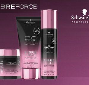 Fibre Force-Серия за прекомерно третирана и екстремно увредена коса.